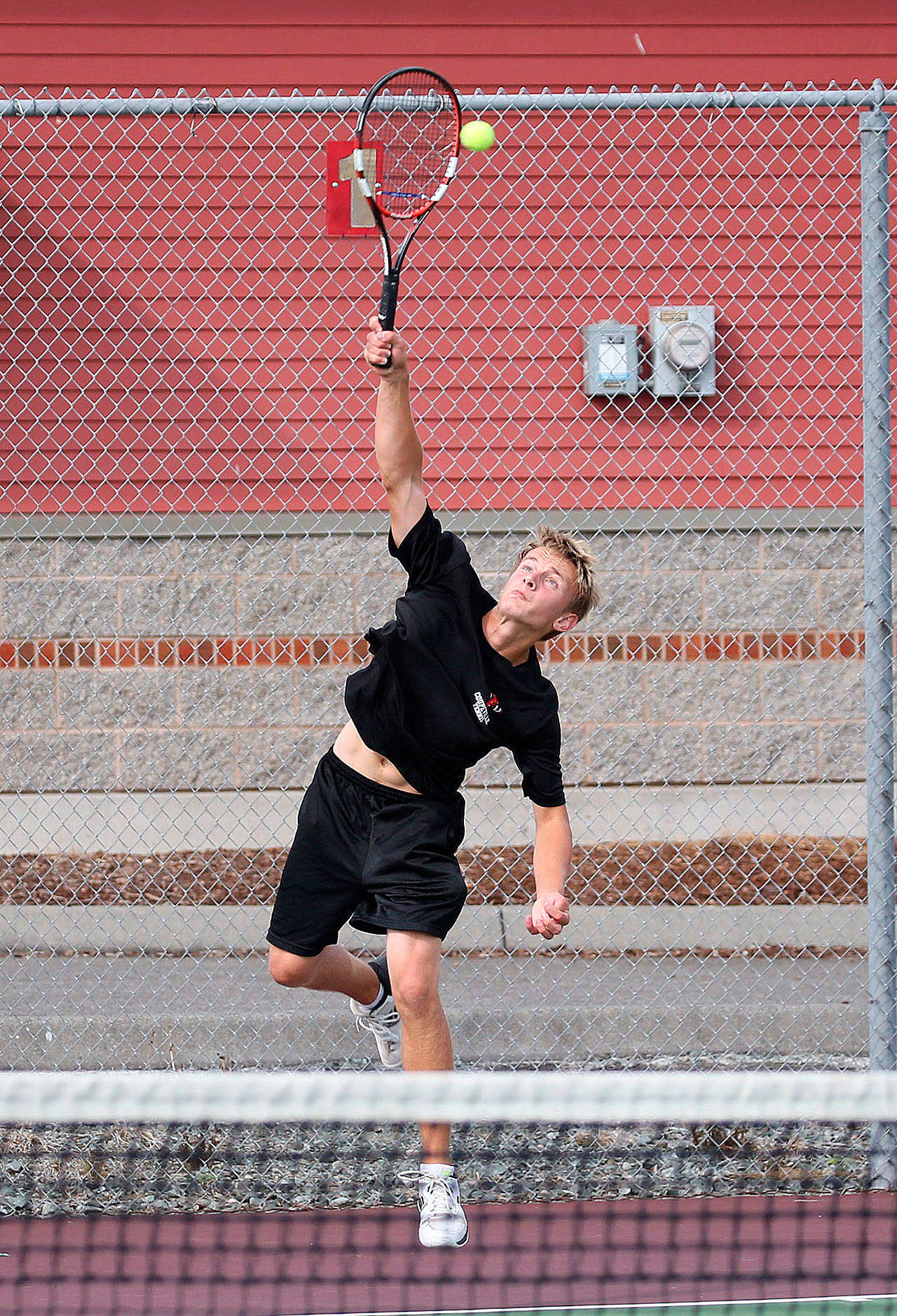 Drake Borden and the Coupeville tennis team had their season postponed until spring. (File photo)